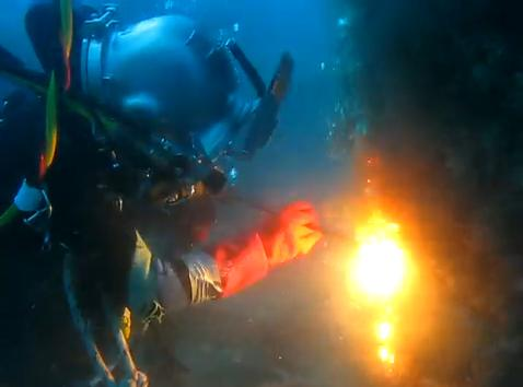 To perform all aspects of underwater welding cutting and burning